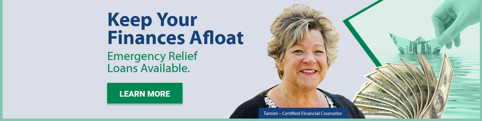 Emergency Relief Loans with Tammi Certified Financial Counselor